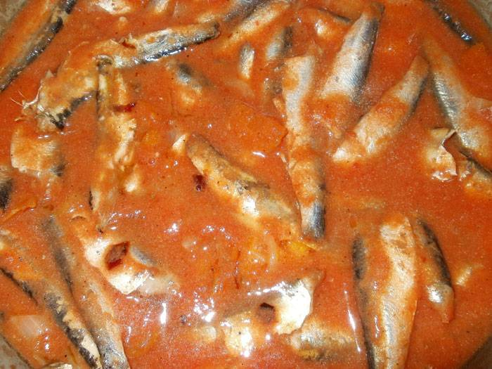 Килька в томатном соусе (томате)- рецепт, консервы, как приготовить.